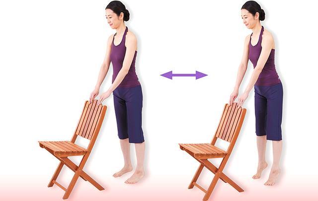 画像2: すぐに体が柔軟になる「原田式カーフレイズ」のやり方