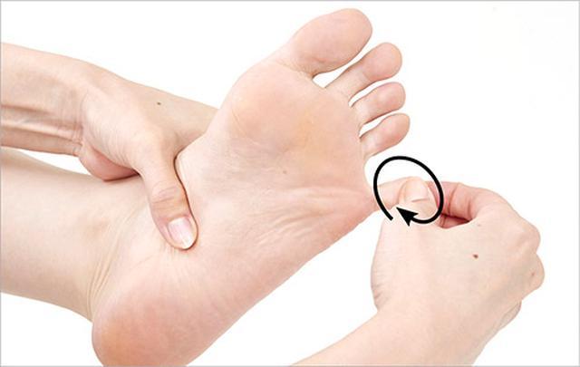 画像7: 頻尿・尿もれに効く「足の裏もみ」のやり方