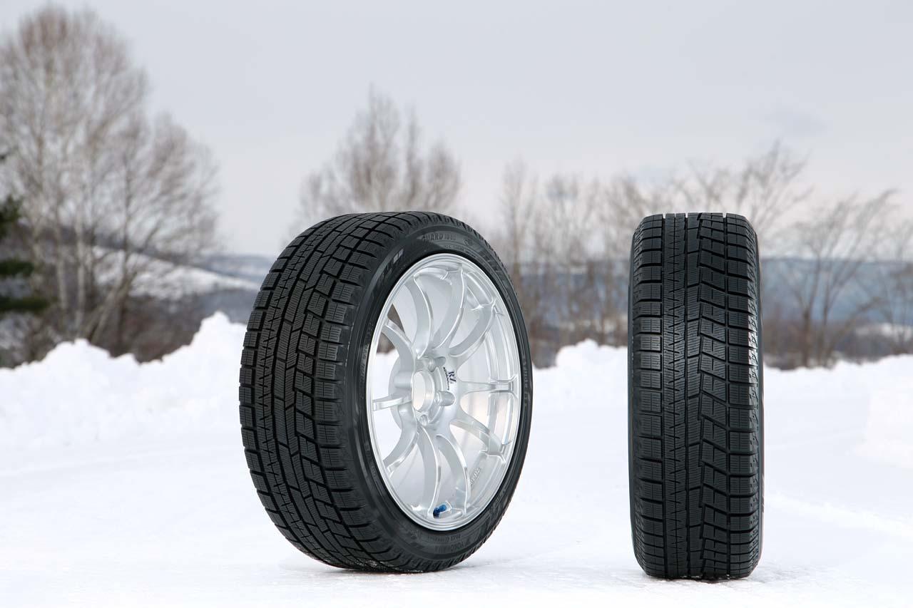 画像: 市販されているヨコハマタイヤ「アイスガード6」