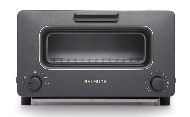 画像: バルミューダ スチームオーブントースター BALMUDA The Toaster K01E-KG(ブラック) www.amazon.co.jp