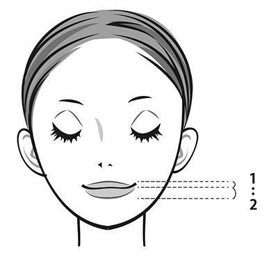 画像: 上唇と下唇の比率は1:2が理想! 魅力的な女優さんの唇はだいたい1:2に収まっている