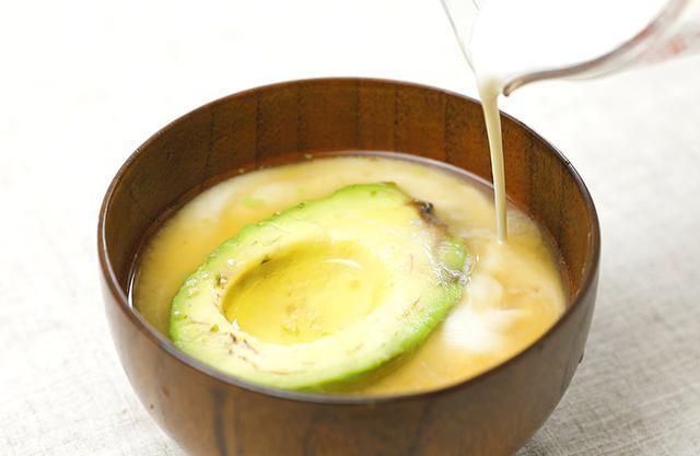 画像2: 肌が若返る!まろやか「アボカドみそ汁」の作り方