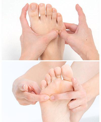 画像3: 「足の指のまた押し」のやり方