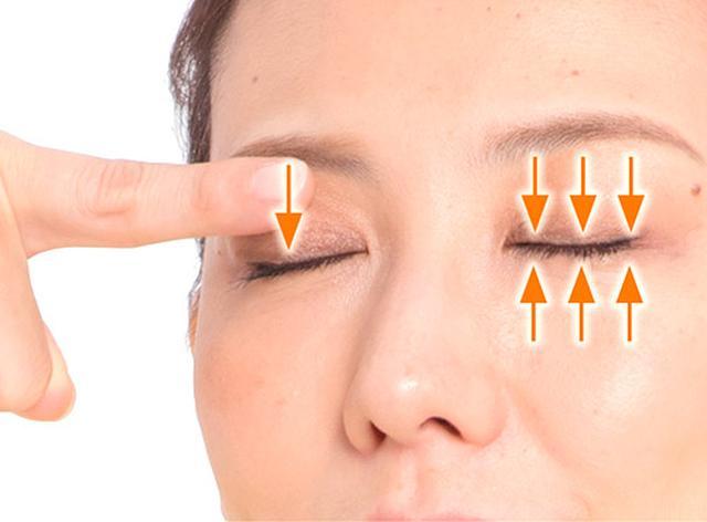 画像2: 「目の温パック」のやり方