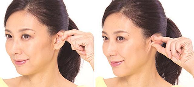 画像4: 「耳ひっぱり」のやり方