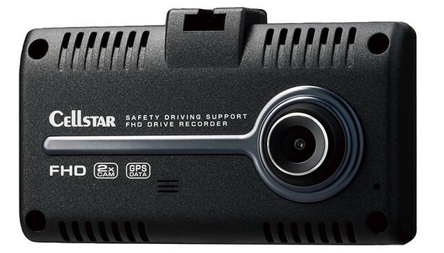 画像: フロントカメラには、ソニー製の高感度なExmor R CMOSセンサー(STARVIS)を採用し、夜間などの暗所撮影に大きな効果を発揮する。リアカメラにもHDRによる画像合成技術を採用。前・後カメラともに、鮮明な映像を記録できる。GPSに強く、安全運転に効果的な「GPSお知らせ機能」も搭載する。