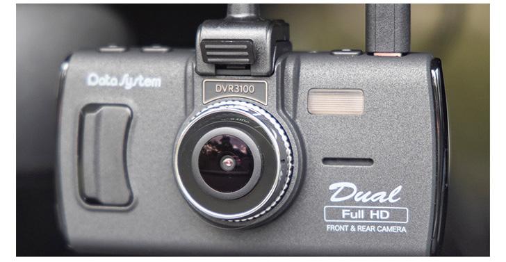 画像: アングルの自由度が高いブラケットにより高い対応力を発揮。リアカメラのサイズも小さめで目立たず装着できる。