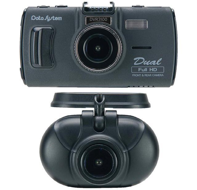 画像: フロントとリアにカメラを取り付ける