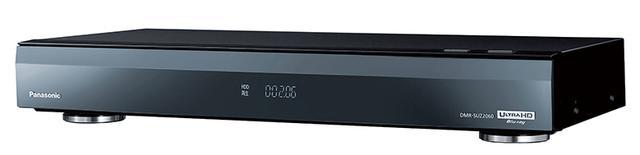 画像: 新4K衛星放送用チューナーを備えた新世代ディーガ。2Tバイトの内蔵HDD(または外付けUSB HDD)に録画して、BDにダビングすることができる。