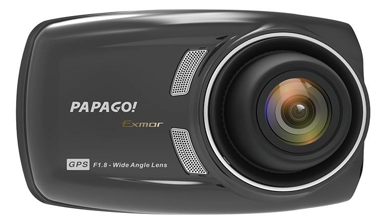 画像: 本体のセンサーは前・後ともにソニー製Exmor CMOSを搭載し、どちらもフルHDで記録できる。特に、リアカメラは超広角の180度を確保。IPX7の防水設計なので、外付けしてバックカメラとしての利用にも対応する。露出は7段階で調整可能で、画像補正はフロントのみWDRで対応する。安全運転支援機能も充実。