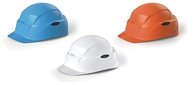 画像: オレンジ、ブルー、ホワイトの3色が用意されている。