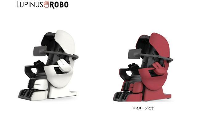 画像: AI技術を搭載したマッサージと健康管理ができる次世代型マッサージチェア「ルピナスROBO」。機動戦士ガンダムの人気キャラクター「シャア・アズナブル」との夢のコラボレーション「シャア専用ルピナスROBO」も発売中。 lupinusrobo.jp