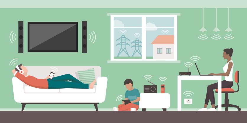 画像: 規格が古く、競合する電波も多い2.4GHz帯は、速度に期待することはできない。
