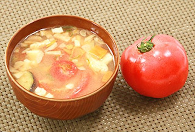 画像: トマト入り豚汁もオススメ!