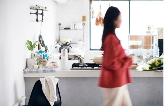 画像: キッチンにあっても違和感のないデザインを採用している。