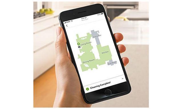 画像: 掃除をしながら家のレイアウトを記録し、データを用いて、より賢い掃除が可能になる。掃除したい部屋だけを掃除させることも可能だ。