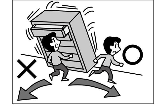 画像: 家にいるとき、もし大きな地震が起こったら?