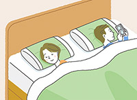 画像: 寝つきがいい、は要注意! スマホを見ながらの寝落ちは浅い眠りの原因になる