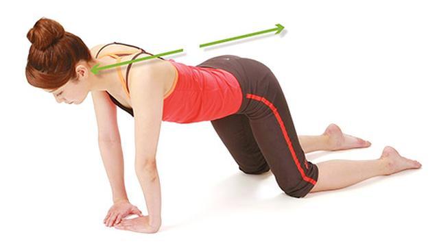 画像2: 【痛み・しびれ】脊柱管狭窄症の症状を改善!背中をほぐす体操「ハイハイ体操」のやり方