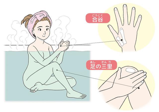 画像: 【オキシトシンとは】ストレスを和らげる愛情ホルモン。分泌を増やす方法「ツボ押し入浴」のやり方