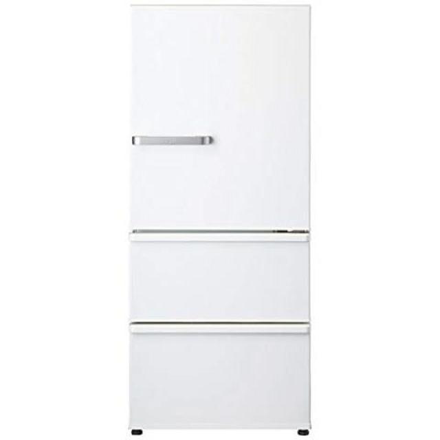 画像: アクア 272L 3ドア冷蔵庫(ナチュラルホワイト)【右開き】AQUA AQR-27G2-W