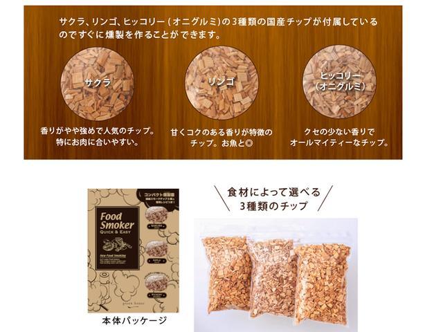 画像: 3種の国産チップが付属 www.green-house.co.jp