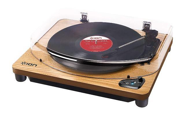 画像: Bluetooth対応だけでなく、パソコンやスマホにUSBでつなぐこともできるION Audioの「Air LP」