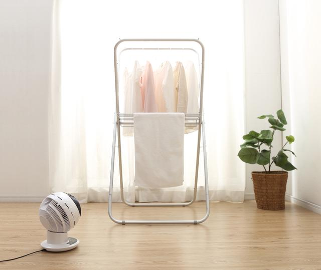 画像: 「衣類乾燥モード」で多くの洗濯物を満遍なく乾燥