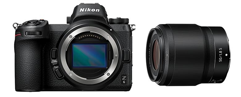 画像: 単焦点のZ50ミリF/1.8Sは、最新設計の高性能タイプということもあって、サイズも大きいし、415グラムもある。Z6との組み合わせで1090グラムだ。