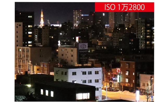 画像: ISO1万2800で撮影したカット。明るい部分でも暗い部分でもノイズが少なく、ディテール再現も解像感も良好だ。大きなサイズにしないなら十分実用になる。