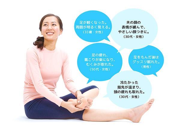 画像: 3分でも足の裏をもむと体が大きく変化する!