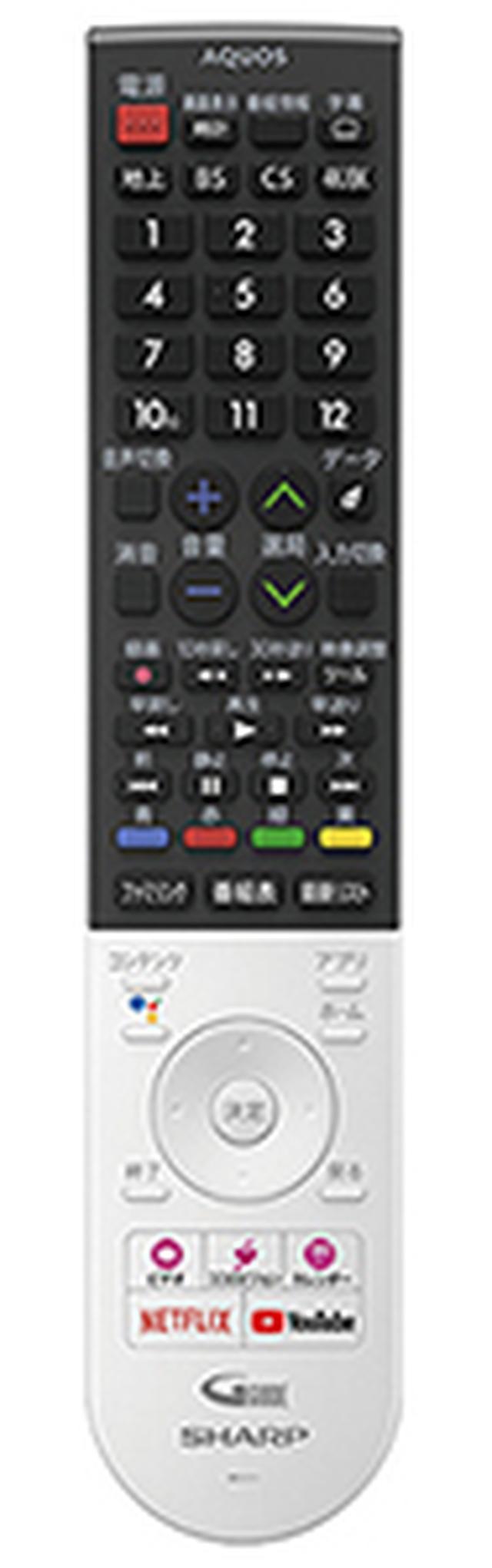 画像: 視聴中の裏番組や録画番組、ネット動画をリストで表示し、そのまま選択できる「コンテンツ」ボタンが便利。