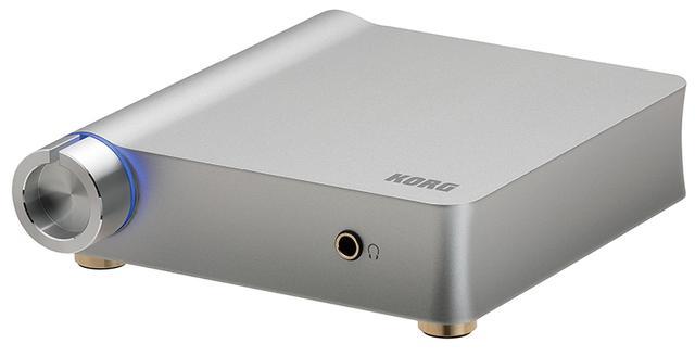 画像: アンプやミニコンポにつないで使う単体タイプ。オーディオ入力端子もあるので、アナログメディアのDSD録音にも活用できる。