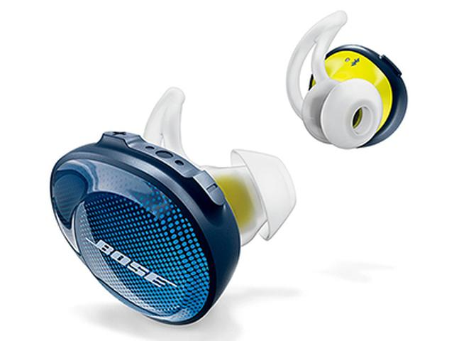 画像: パワフルかつ高音質で人気のボーズサウンドを完全ワイヤレスに。スポーツ向けの安定した装着感もポイント。
