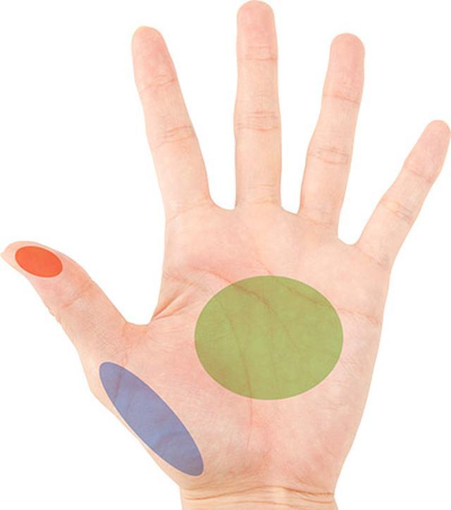 画像1: 手のツボと反射区の違いは?全身の反射区と症状別「手のもみ方」大公開!