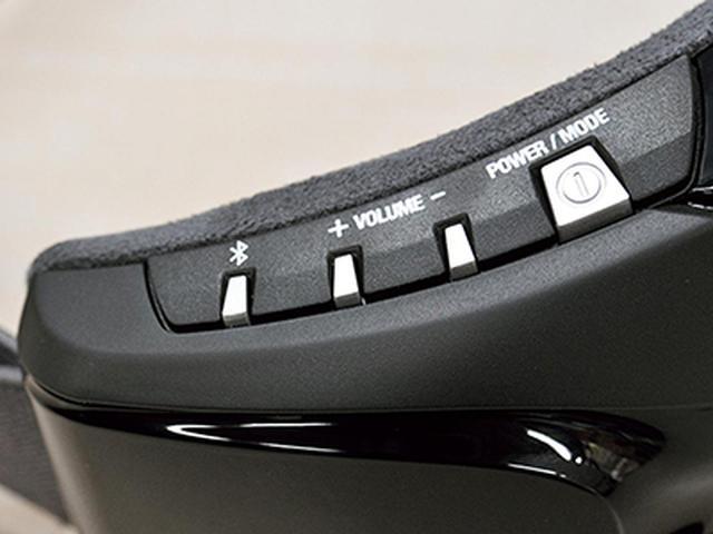 画像: いちばん右のボタン一つでモードの切り替えと選択ができ、めんどうな操作は不要。
