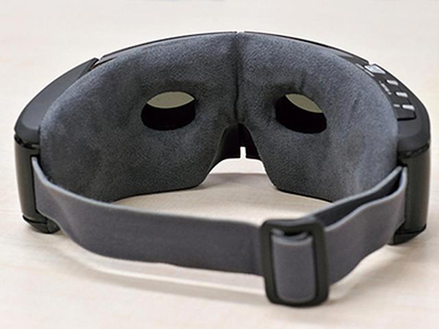 画像: 使用中に周囲が確認できる開口部。双眼鏡をのぞいているような感じ。