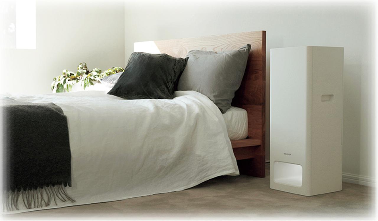 画像: 空気を大きく循環させることで素早く効率的な空気清浄を実現する