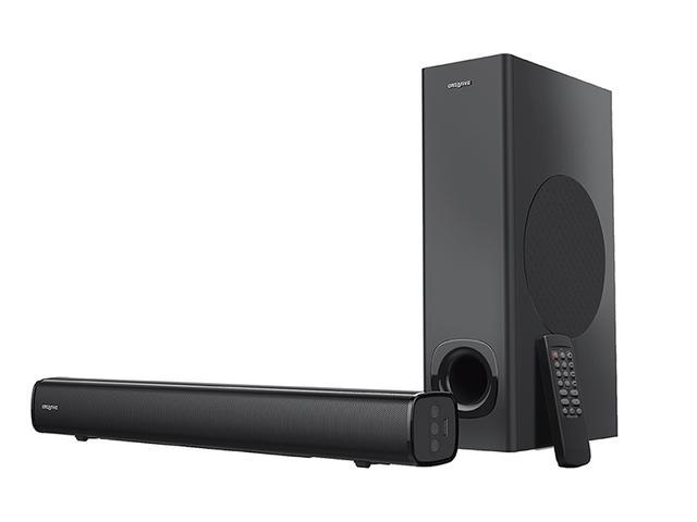 画像: スリム&コンパクト設計の2.1チャンネルサウンドシステム