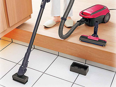 画像: 玄関の泥汚れも掃除機で楽々!シャープの紙パック式キャニスター「EC-VP510」