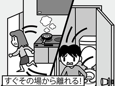 画像: 「台所やトイレにいるとき、大地震が発生したらどうする?」