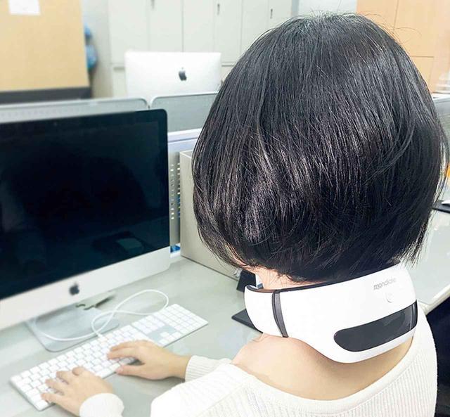 画像3: 首・肩を楽にするEMSリラクゼーション機器「モンデール スマートネック」