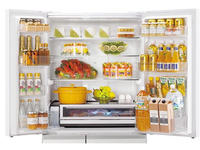 画像: 業務用レベルの急速冷凍が可能な「はやうま冷凍」機能を新搭載