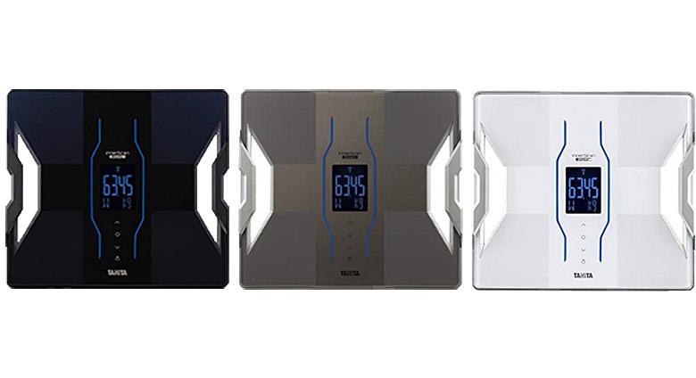 画像: 最大計量:180kg 最小表示:50g ※0~100kgまで(100~180kgまでは100g) 自動認識機能:有 登録人数:4人 測定結果項目数:10項目 ※体重、BMI、体脂肪率、筋肉量、筋質点数、推定骨量、内蔵脂肪レベル、基礎代謝量、体内年齢、体水分率 スマホアプリ連携:有 電源:乾電池 ※単3アルカリ乾電池×4本(お試し用付属)