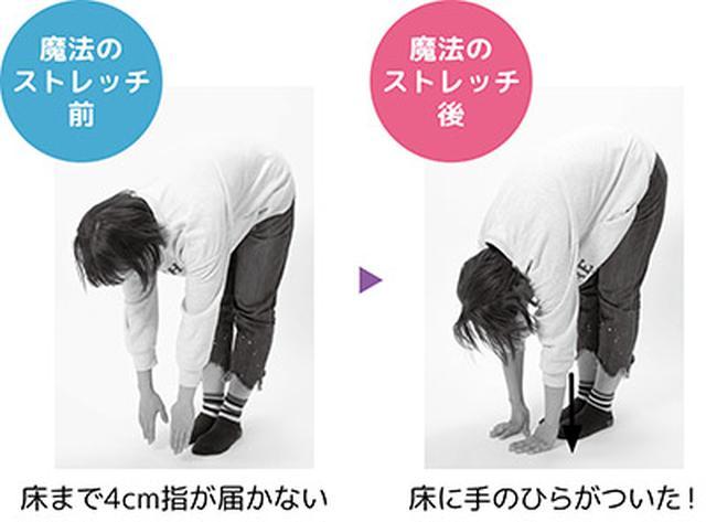 画像1: 【前屈ができない】一瞬で柔らかくなる方法「魔法のストレッチ」のやり方