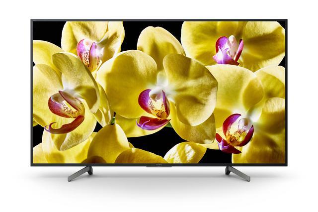 画像: 大画面の65V型が値頃感のある価格となっている4K液晶テレビの「X8000G」シリーズ。
