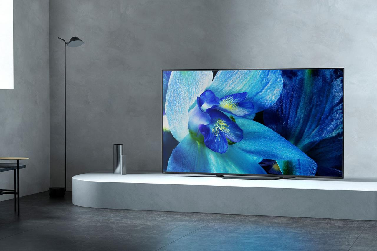 画像: 価格を抑えた買いやすいモデルとなった有機ELテレビ「A8G」シリーズ。