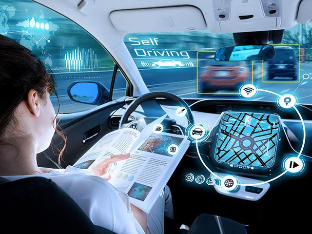 画像: クルマの自動運転は「5G」から