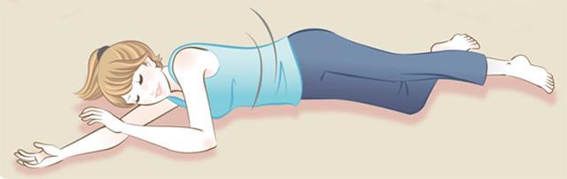 画像: 腸を揺することで、オナラとして溜まったガスを抜くことができる kenka2.com
