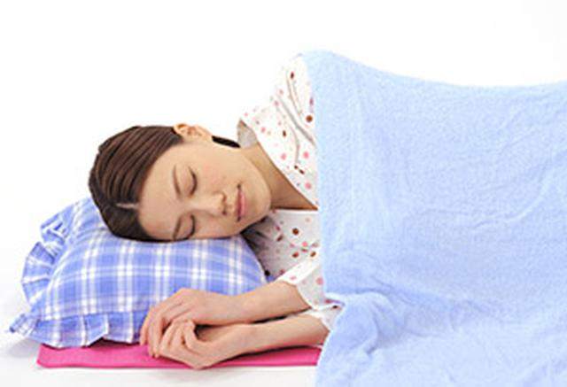 画像: 横向き寝がお勧め